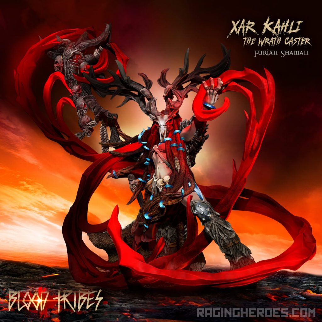 Xar Khali The Wrath Caster - Raging Heroes