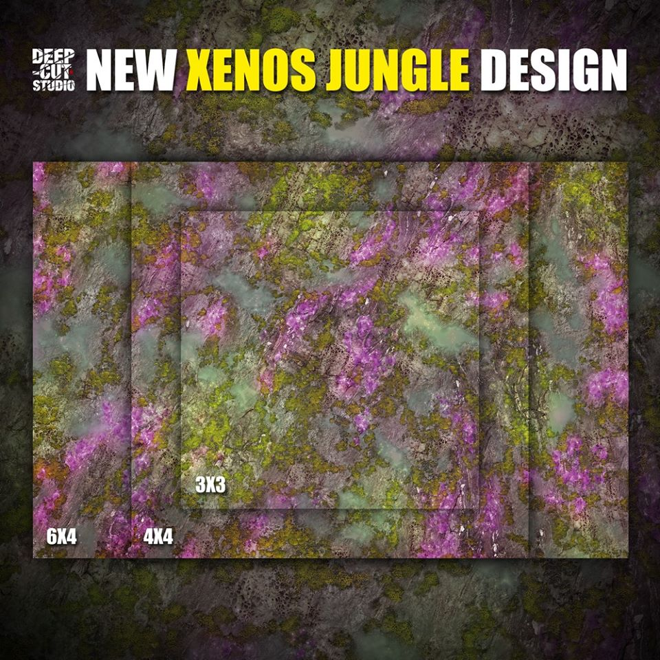 Xenos Jungle Design - Deep Cut Studio