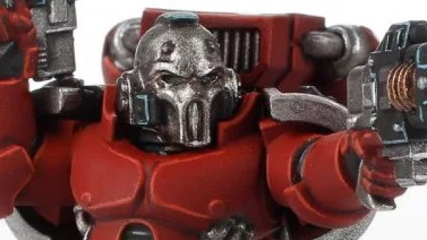 Deadly Blood Angels Descend On Forge World's Battlefield