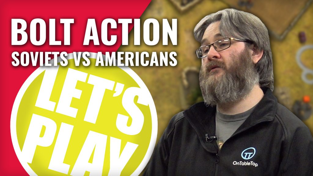 Let's Play Bolt Action: Soviets vs Americans