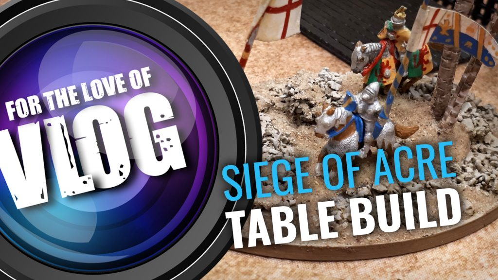 VLOG: Crusader Wargaming Table Build - Part Two
