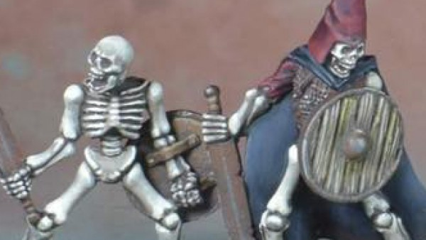 Crooked Dice Paint Up Their 7TV: Fantasy Skeleton Warriors
