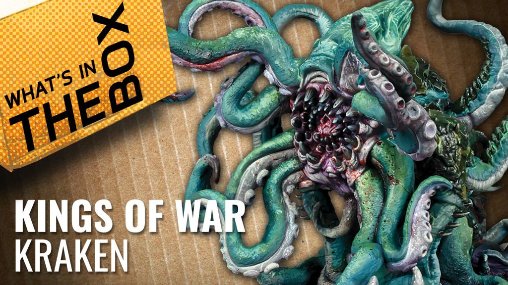 Unboxing Kings of War: Trident Realms Kraken