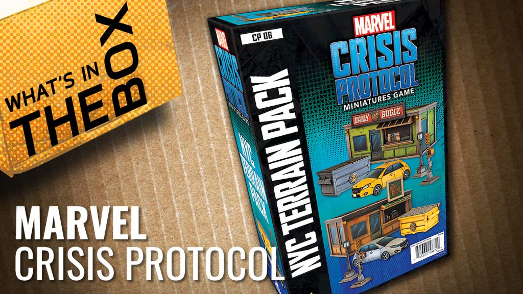 Unboxing Marvel: Crisis Protocol - NYC Terrain Expansion