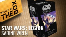 Unboxing Star Wars: Legion – Sabine Wren