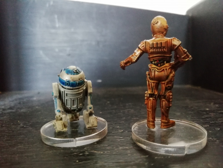 The droids i'm looking for