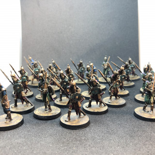 The skeleton horde is ready to be unleashed upon the Hyborian adventurers!