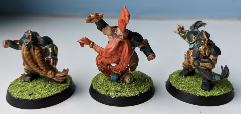 Blood Bowl Dwarves - Getting Stuff Out Of The Way