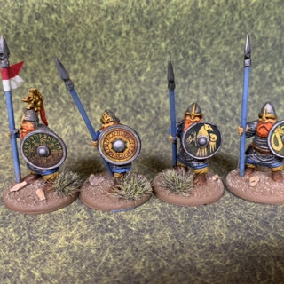 Second unit of Spearmen done.