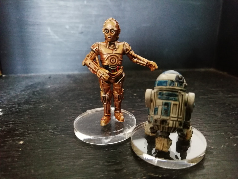 I found R2 doesnt have the right amount of detail on his dome when it comes to painting compared to the film model.