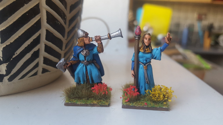 Work Finished On Champion & Mage