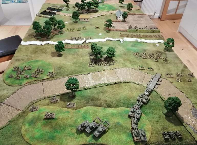Initial Deployment, from the Allied perspective