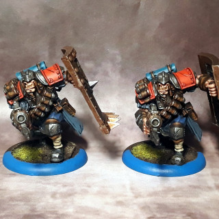 Captain Jonas Murdoch and Trencher Busters