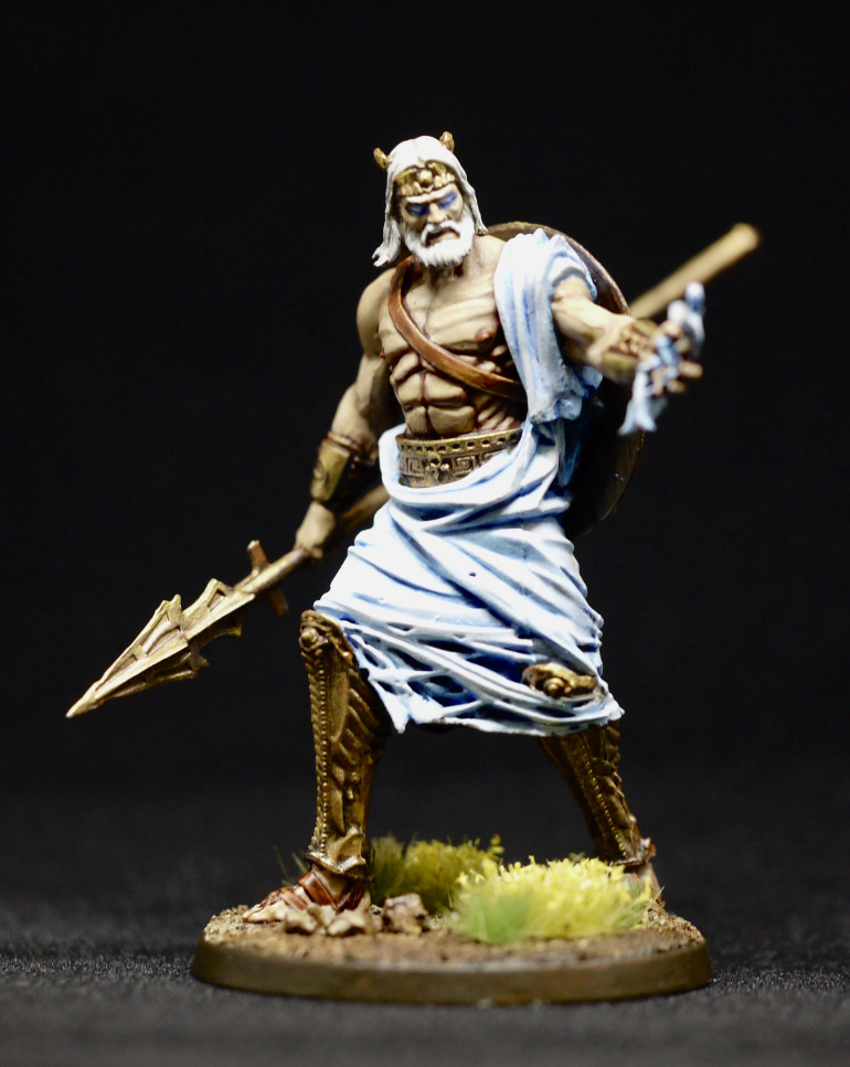 This may be my first mod as it looks like he just has a fist full of pubic hair rather than lightning.
