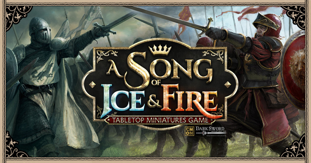 A Song of Ice and Fire – CMON miniatures game – Lannisters