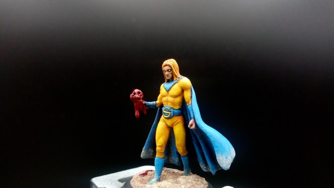 Knight Models, Marvel Miniatures Game, Sentry