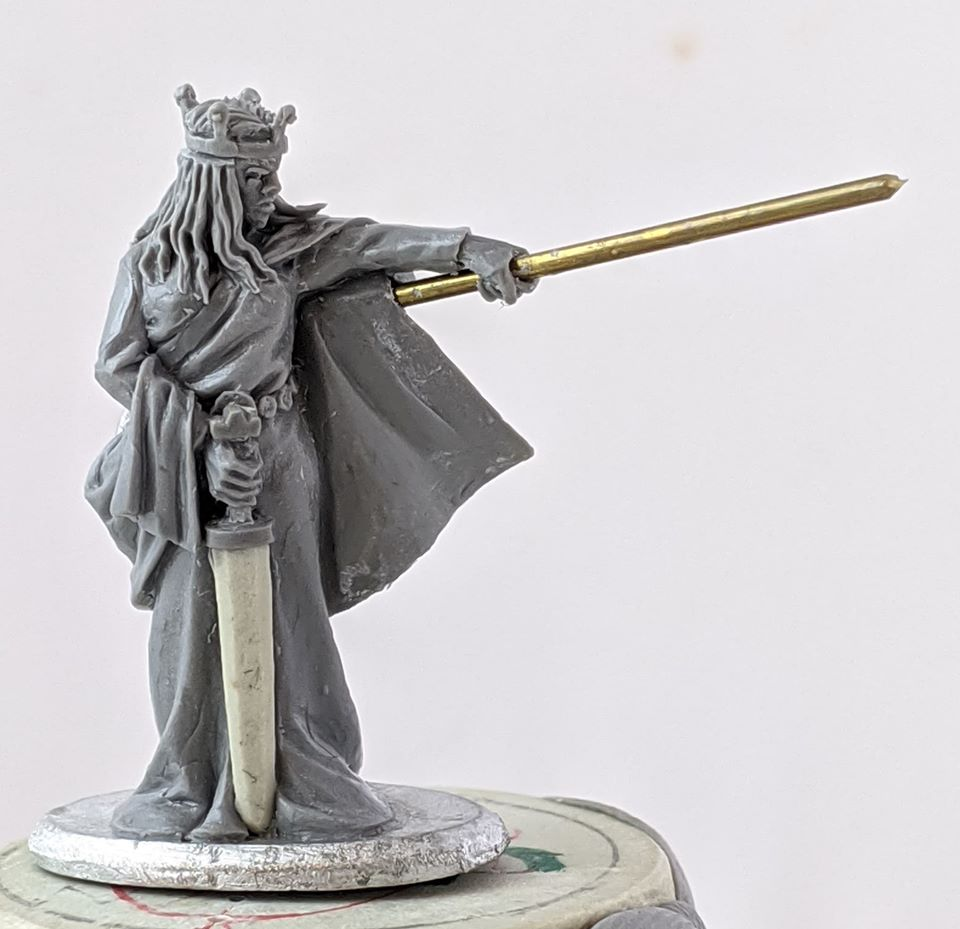 Aethelflaed Lady Of The Mercians - Footsore Miniatures