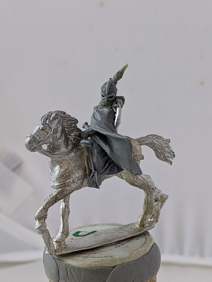 Aethelflaed Lady Of The Mercians Mounted - Footsore Miniatures