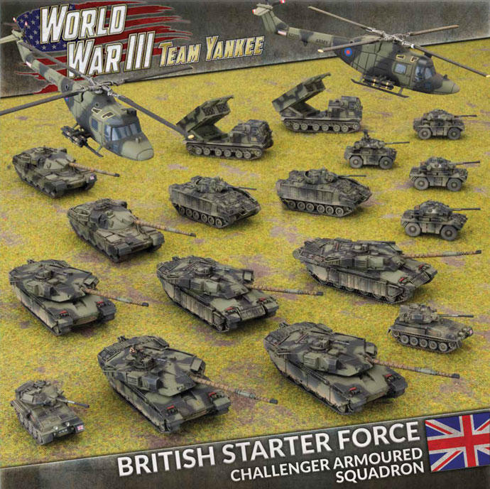 British Starter Force - Team Yankee