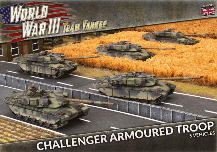 Challenger Armoured Troop - Team Yankee