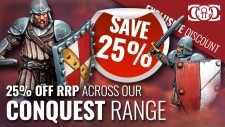 COG DEAL: Conquest Range 25% OFF RRP