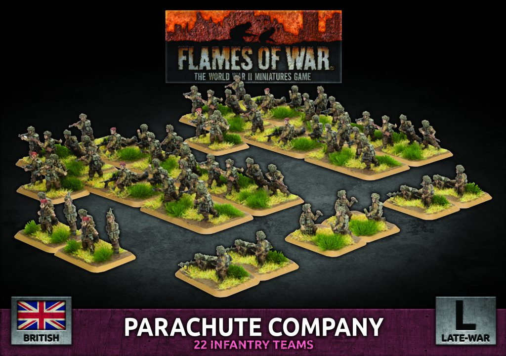 D-Day Brits Parachute Company - Flames Of War