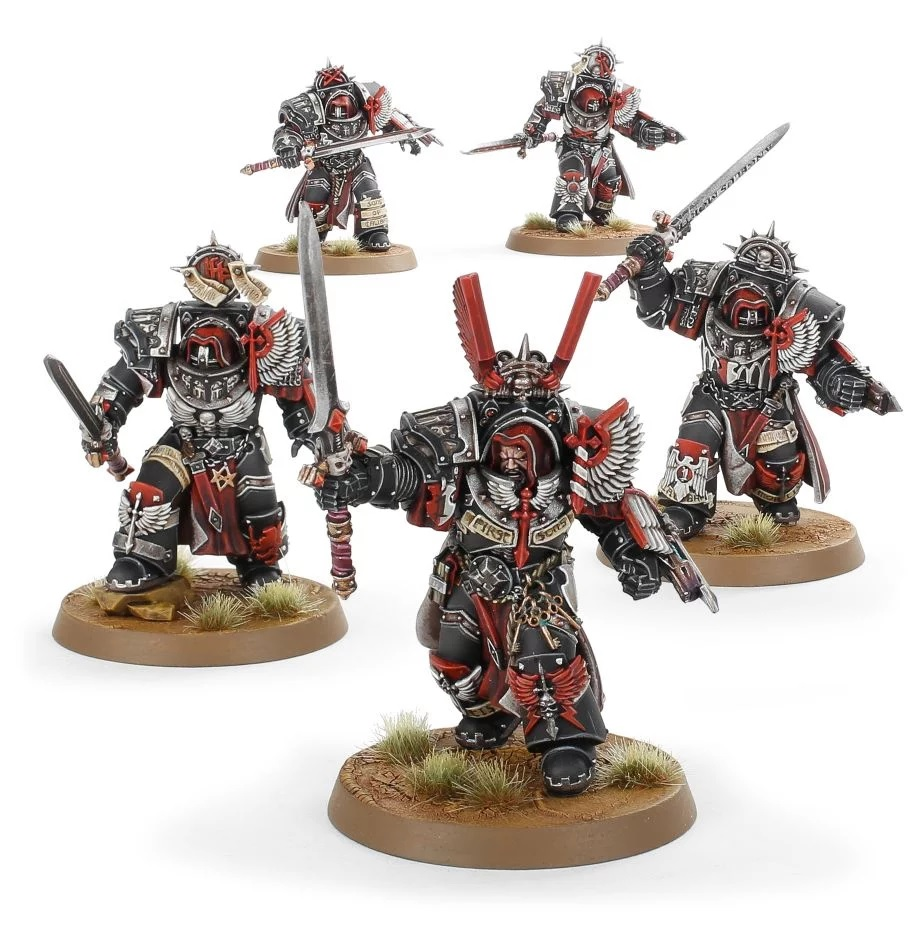 Dark Angels Legion Inner Circle Knights Cenobium - Forge World