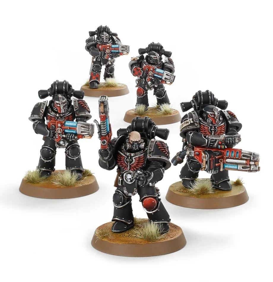 Dark Angels Legion Interemptor Squad - Forge World