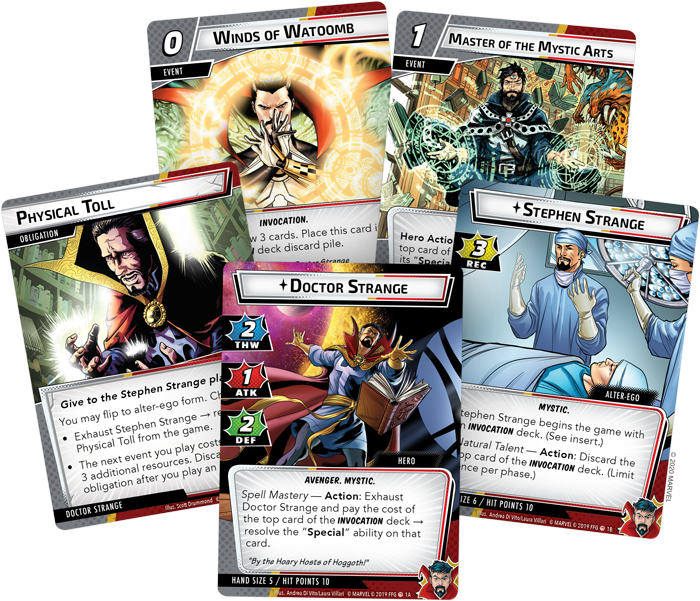 Doctor Strange Card Fan - FFG