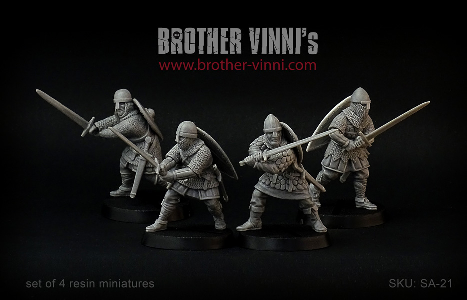 Early Knights With Long Swords - Brother Vinni