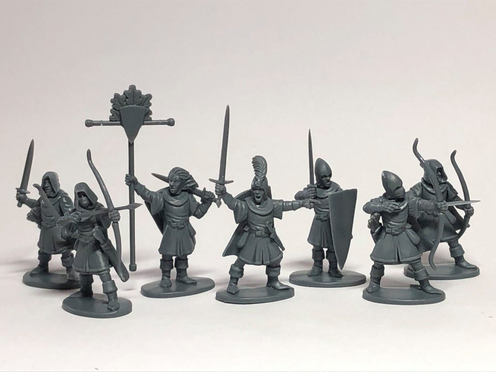 Elf Light Infantry - North Star