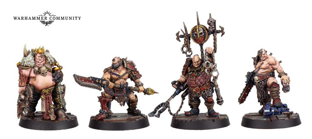 Forge World Goliaths - Necromunda
