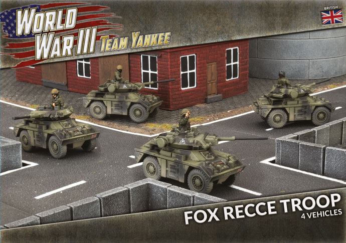 Fox Recce Troop - Team Yankee