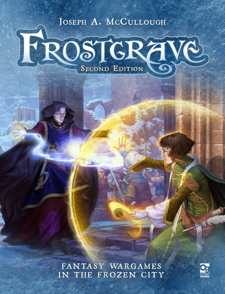 Frostgrave 2nd Edition Art - Osprey Games