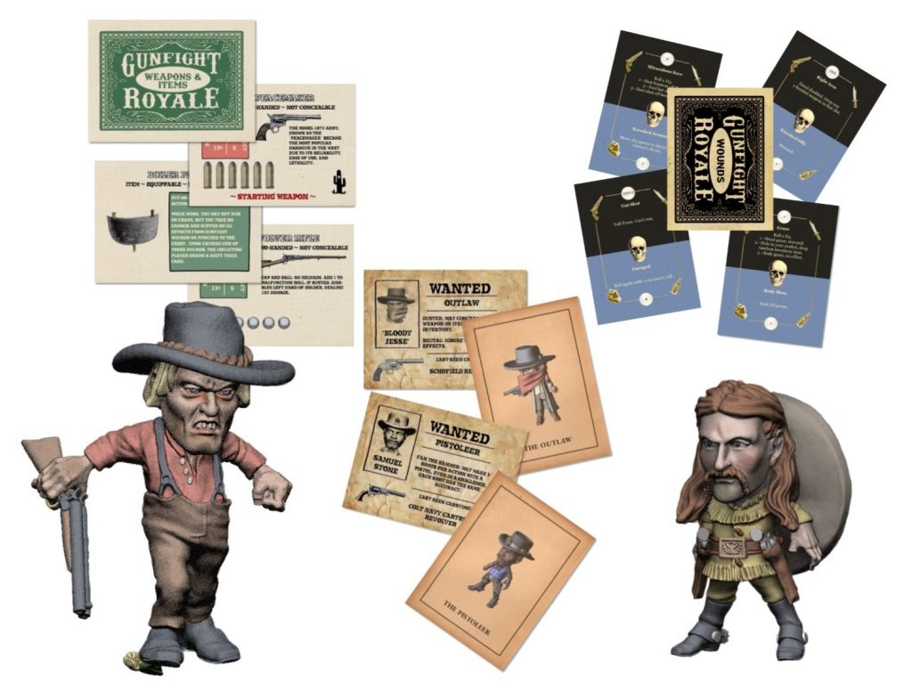 Gunfight Royale Cards - Knuckleduster Miniatures