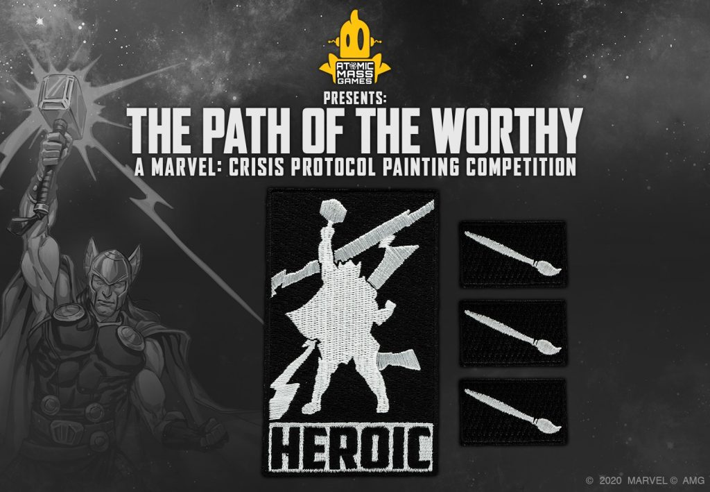 Heroic Patches - Atomic Mass Games