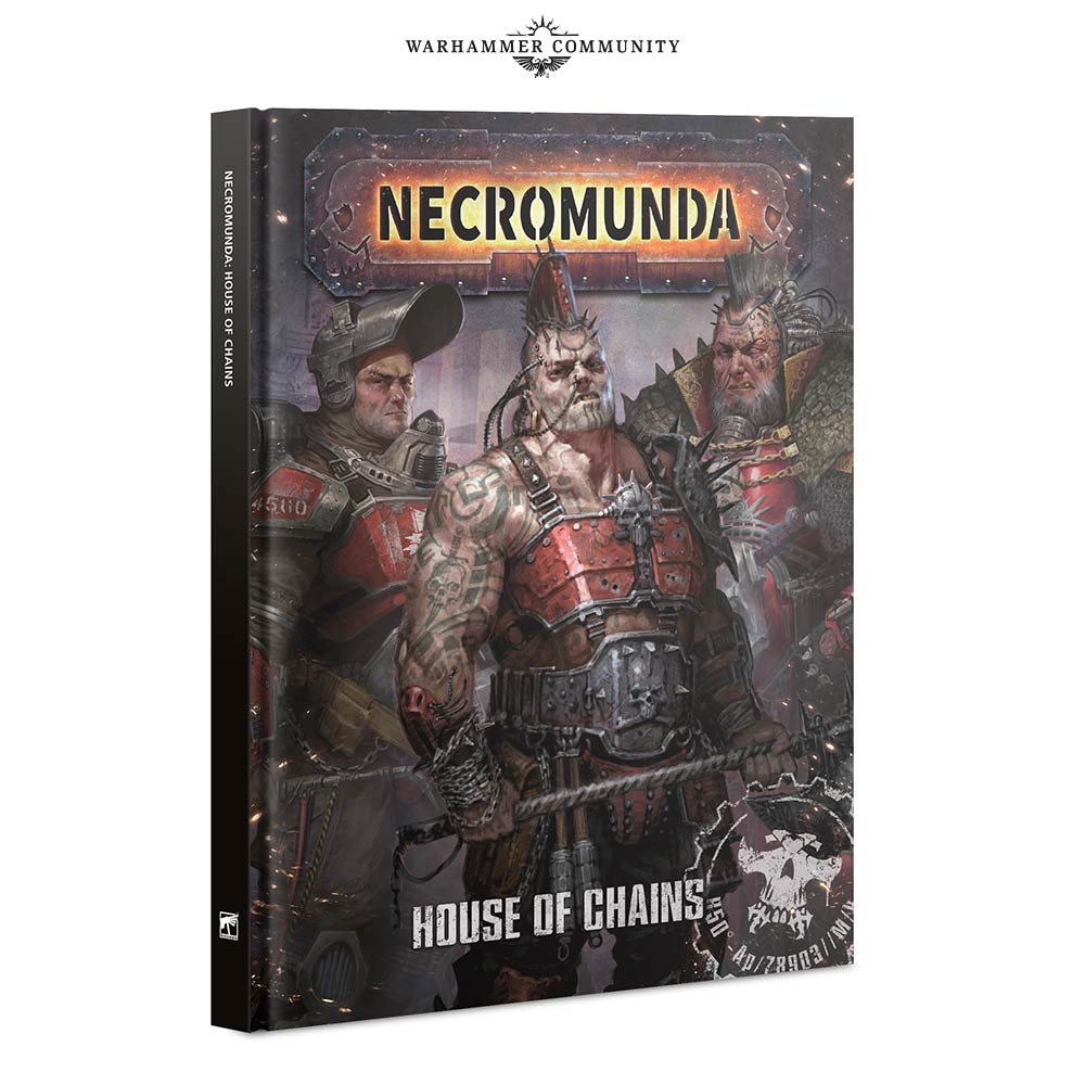 House Of Chains Book Release - Necromunda