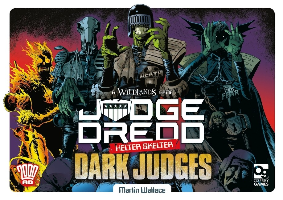 Judge Dredd Helter Skelter Dark Judges - Osprey Games