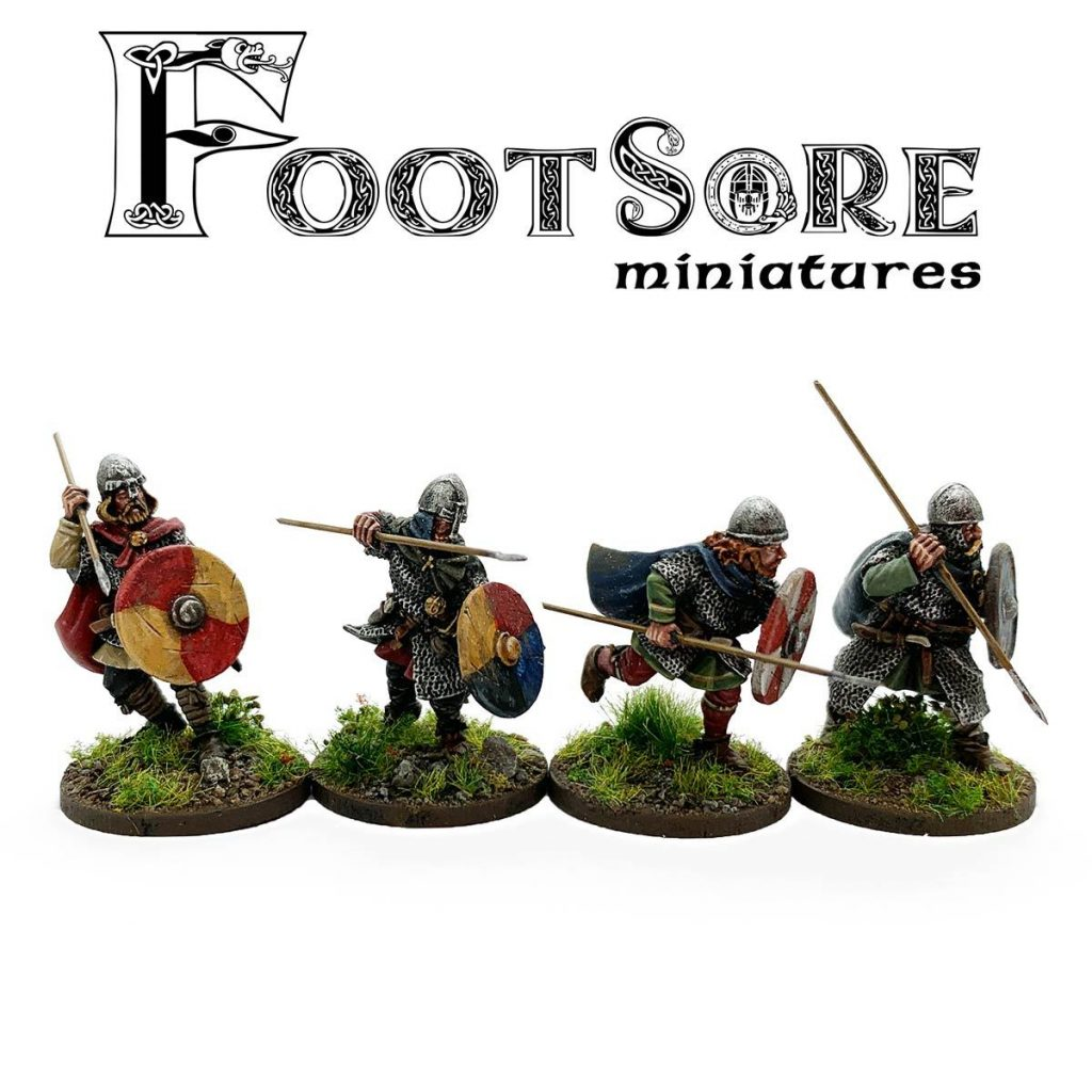 Late Saxon Huscarls With Spears - Footsore Miniatures
