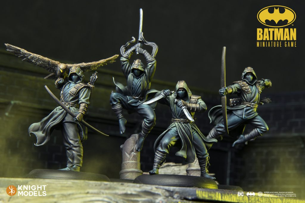 League Of Assassins Feb - Knight Models