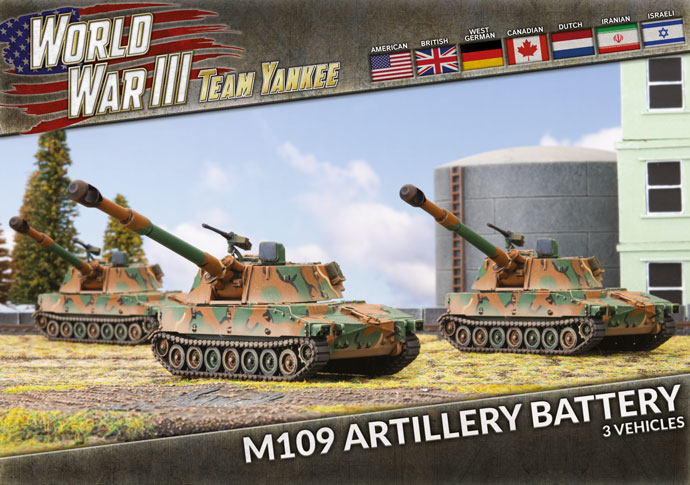 M109 Artillery Battery - Team Yankee