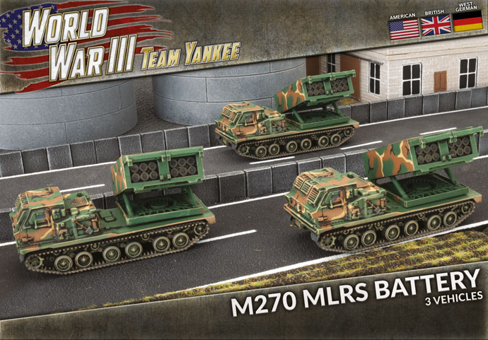 M270 MLRS Battery - Team Yankee