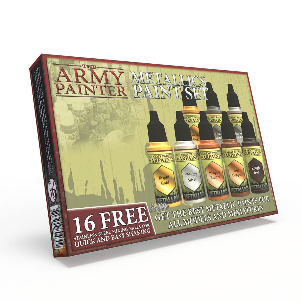 Metallics Paint Set #1 - Army Painter