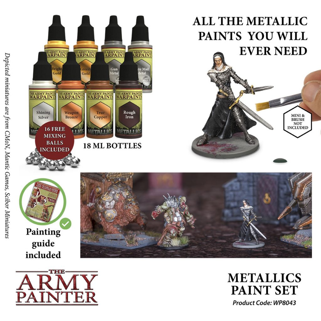 Metallics Paint Set #2 - Army Painter