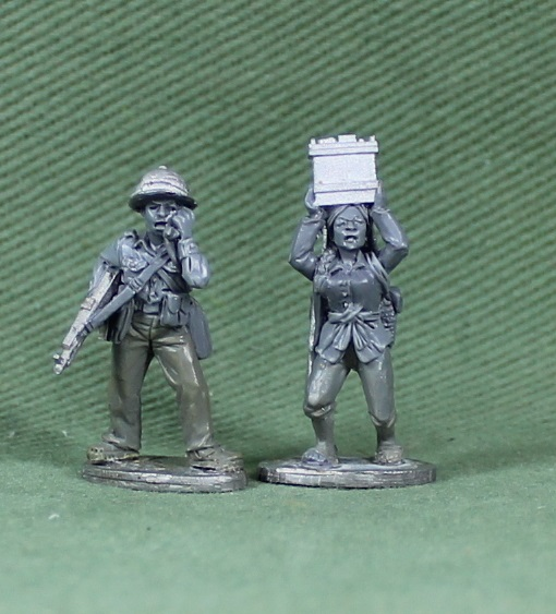 NVA Officer With Radio Mule - Empress Miniatures