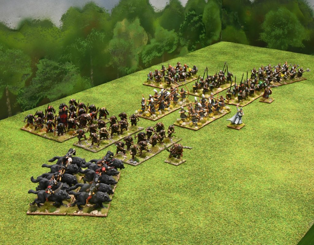 Oathmark Sample Army - Osprey Games