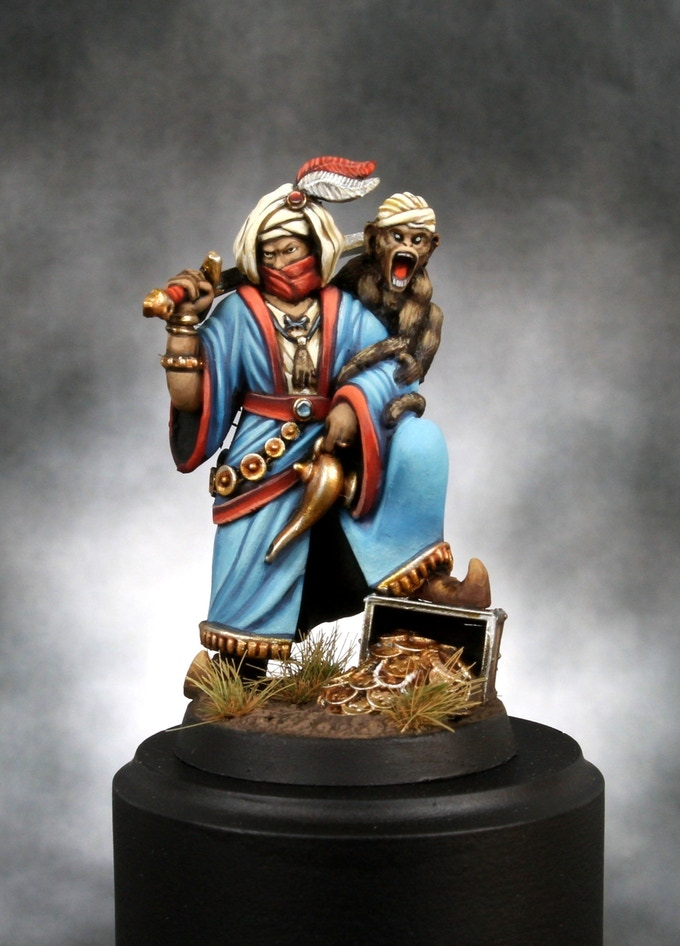 Old World Painted Figure #1 - Heresy Lab