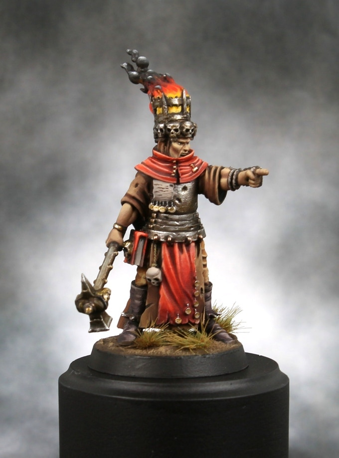Old World Painted Figure #2 - Heresy Lab