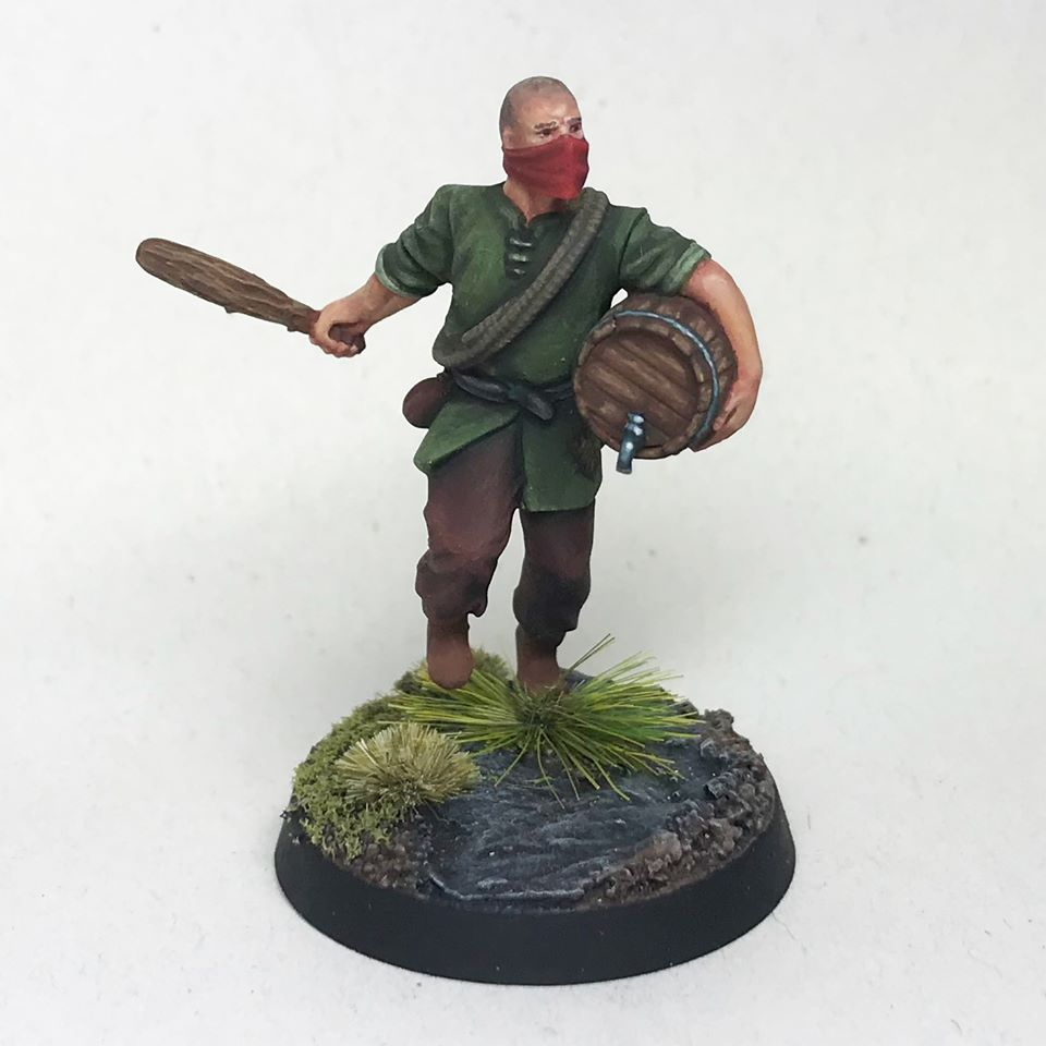 Sebastian The Bully - Unreleased Miniatures