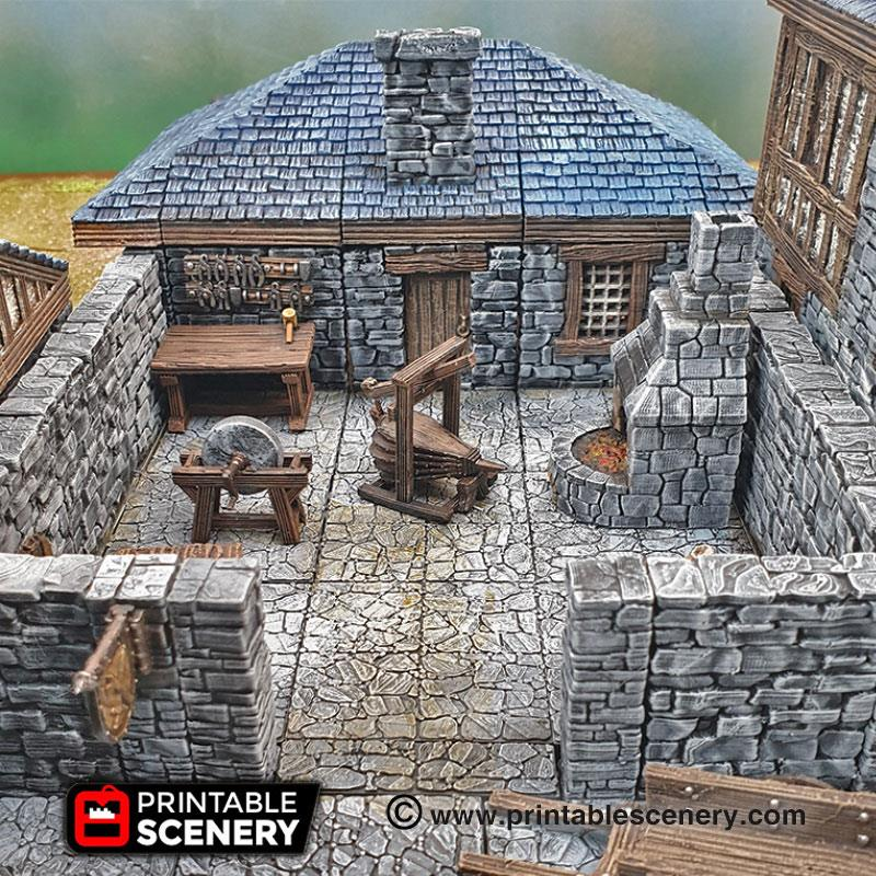 Smithy Tools - Printable Scenery